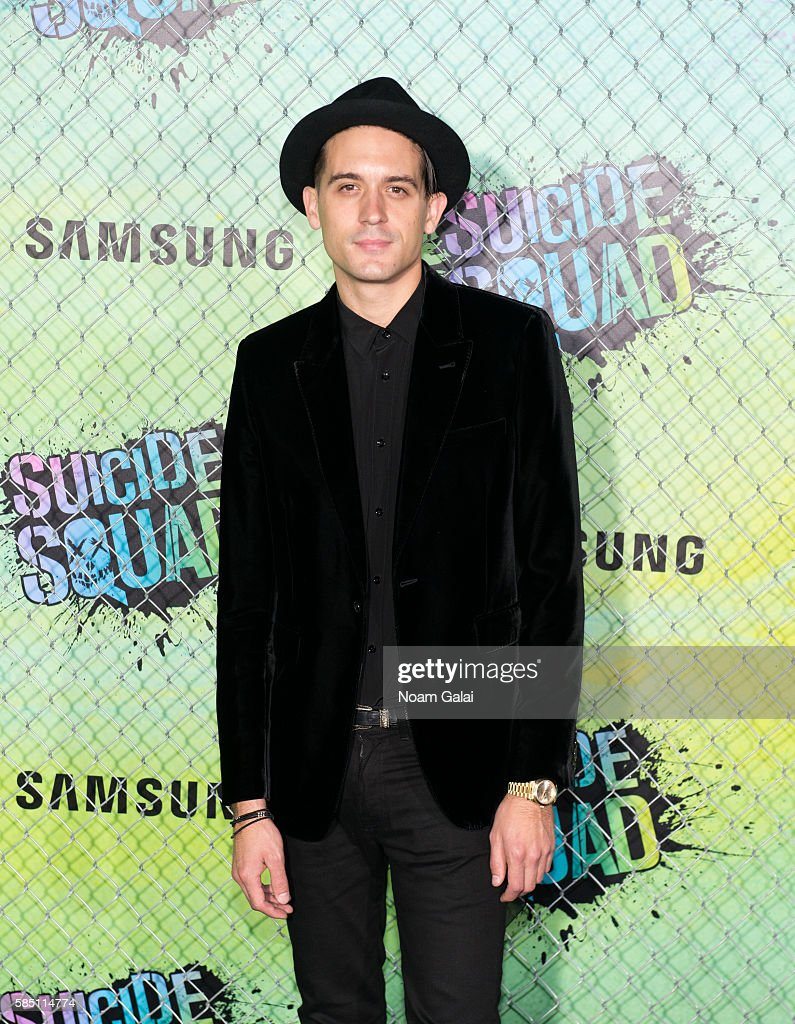 Singer GEazy attends the world premiere of 'Suicide Squad' at The Beacon Theatre on August 1 2016 in New York City