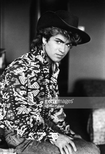 Singer George Michael of Wham in Sydney Australia in 1985