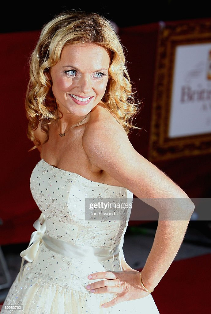 Singer Geri Halliwell attends the Galaxy British Book Awards held at the Grosvenor House Hotel on April 9, 2008 in London, England.