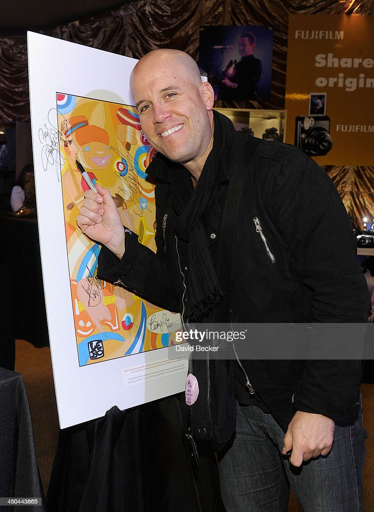 Singer Gianmarco Zignago attends a gift lounge during the 14th annual Latin GRAMMY Awards at the Mandalay Bay Events Center on November 18, 2013 in Las Vegas, Nevada.