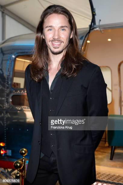 Singer Gil Ofarim attends the Guido Maria Kretschmer Fashion Show Autumn/Winter 2017 presented by OTTO at Tempodrom on July 5 2017 in Berlin Germany