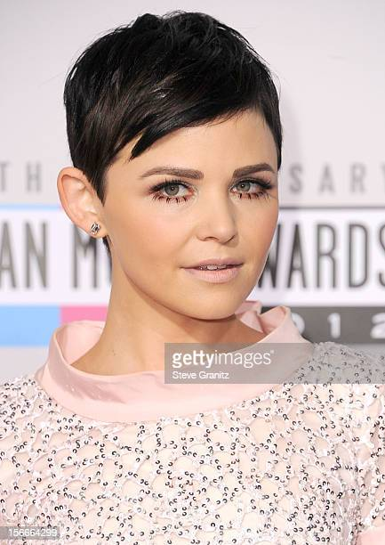 Singer Ginnifer Goodwin attends the 40th Anniversary American Music Awards held at Nokia Theatre LA Live on November 18 2012 in Los Angeles California