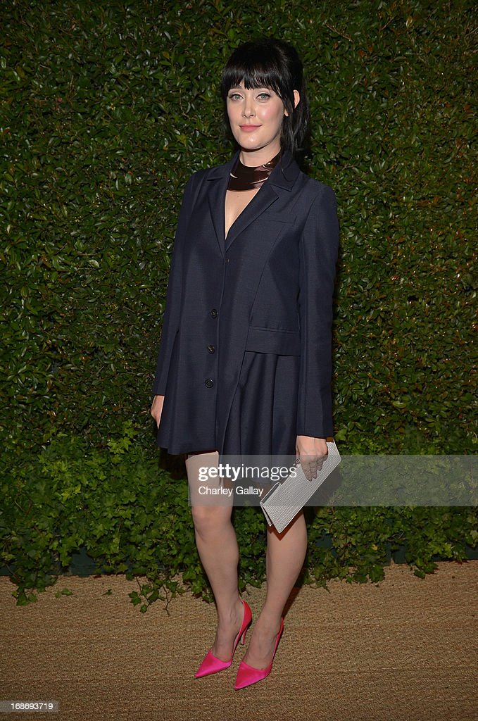Singer Ginny Blackmore attends Vogue and MAC Cosmetics dinner hosted by Lisa Love and John Demsey in honor of Prabal Gurung at the Chateau Marmont on Monday, May 13, 2013 in Los Angeles, California.