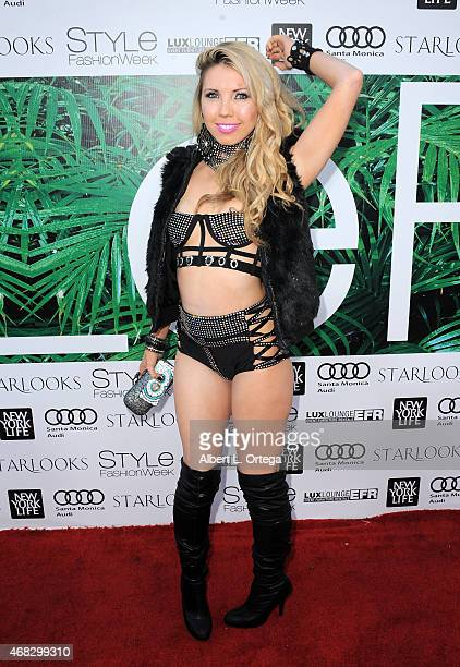 Singer Girl Crush at the 2015 Los Angeles Style Fashion Week held at The Reef on March 21 2015 in Los Angeles California