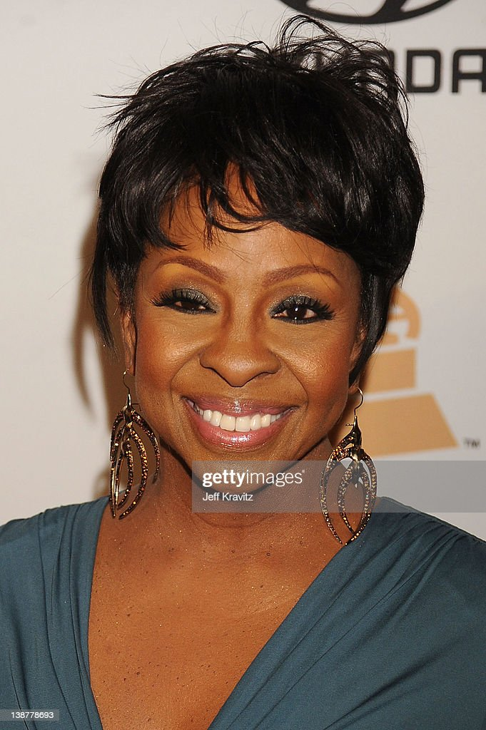 Singer Gladys Knight arrives at Clive Davis and the Recording Academy's 2012 Pre-GRAMMY Gala and Salute to Industry Icons Honoring Richard Branson held at The Beverly Hilton Hotel on February 11, 2012 in Beverly Hills, California.