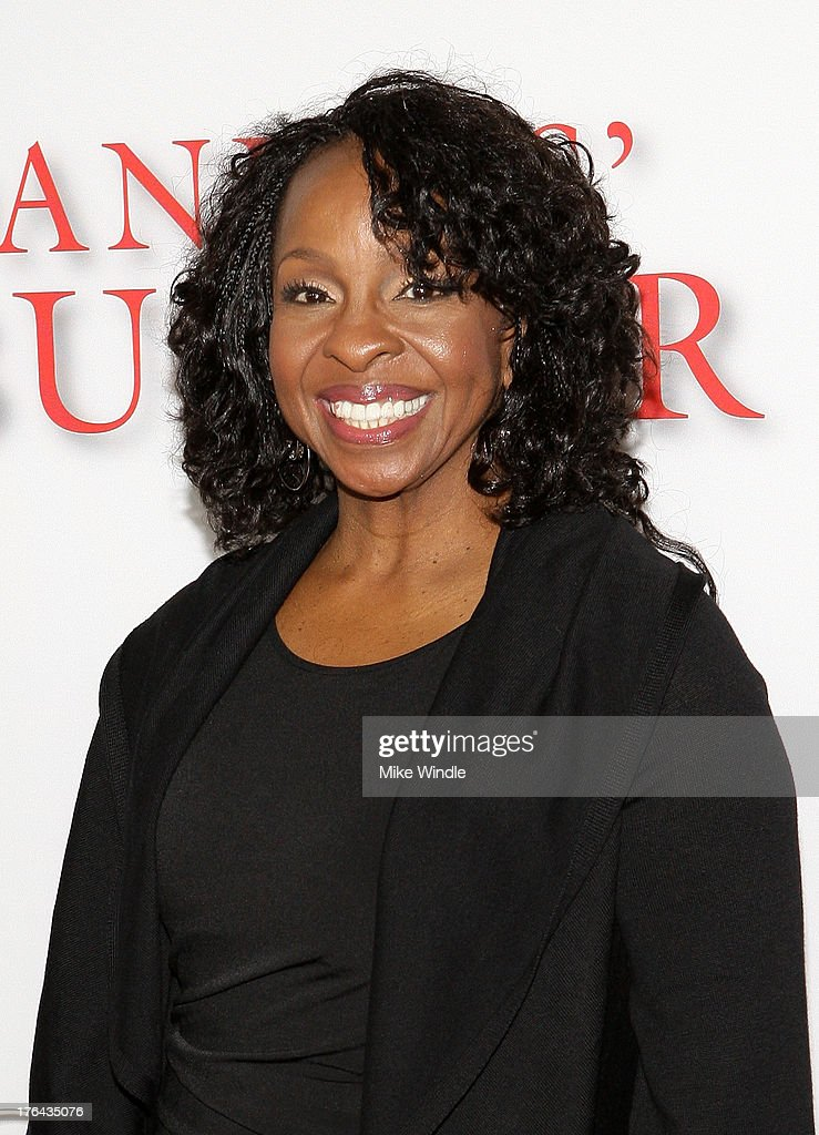 Singer <a gi-track='captionPersonalityLinkClicked' href=/galleries/search?phrase=Gladys+Knight&family=editorial&specificpeople=169894 ng-click='$event.stopPropagation()'>Gladys Knight</a> attends LEE DANIELS' THE BUTLER Los Angeles premiere, hosted by TWC, Budweiser and FIJI Water, Purity Vodka and Stack Wines, held at Regal Cinemas L.A. Live on August 12, 2013 in Los Angeles, California.