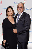Singer Gloria Estefan and Emilio Estefan attend the 8th Annual Exploring the Arts Gala at Cipriani 42nd Street on September 29 2014 in New York City