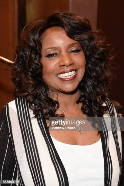 Singer Gloria Gaynor poses for a photo during the recording of her upcoming release 'Testimony' at Avatar Studios on April 14 2017 in New York City