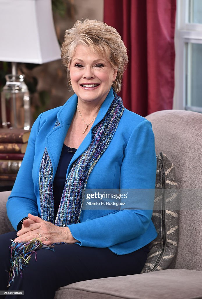 Singer Gloria Loring attends Hallmark's Home and Family 'Facts Of Life Reunion' at Universal Studios Backlot on February 12, 2016 in Universal City, California.