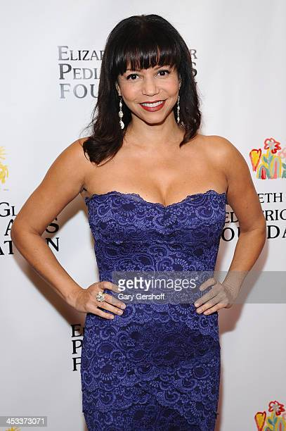 Singer Gloria Reuben attends Elizabeth Glaser Pediatric AIDS Foundation's Global Impact Award Gala Dinner Honoring Hillary Clinton at Best Buy...