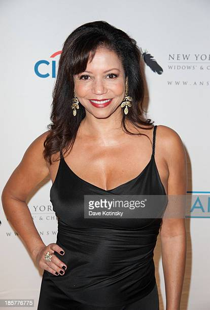 Singer Gloria Reuben attends The 2013 New York Police and Fire Widows' And Children's Benefit Fund at The Waldorf=Astoria on October 24 2013 in New...