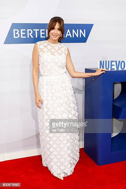 Singer Grace Capristo attends the Bertelsmann Summer Party at Bertelsmann Repraesentanz on September 8 2016 in Berlin Germany
