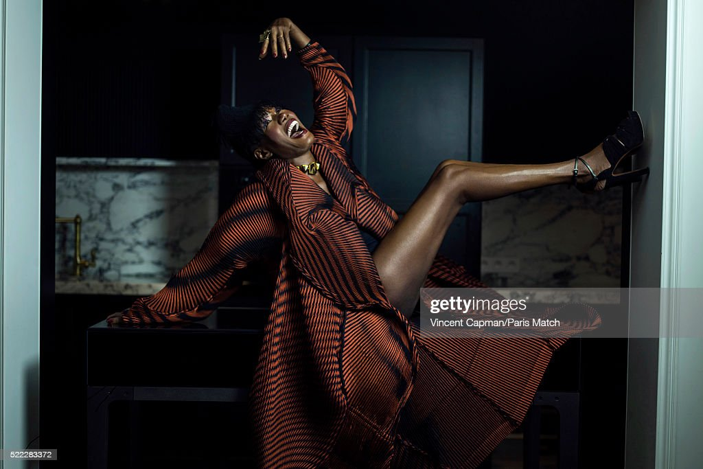 Grace Jones, Paris Match Issue 3490, April 13, 2016