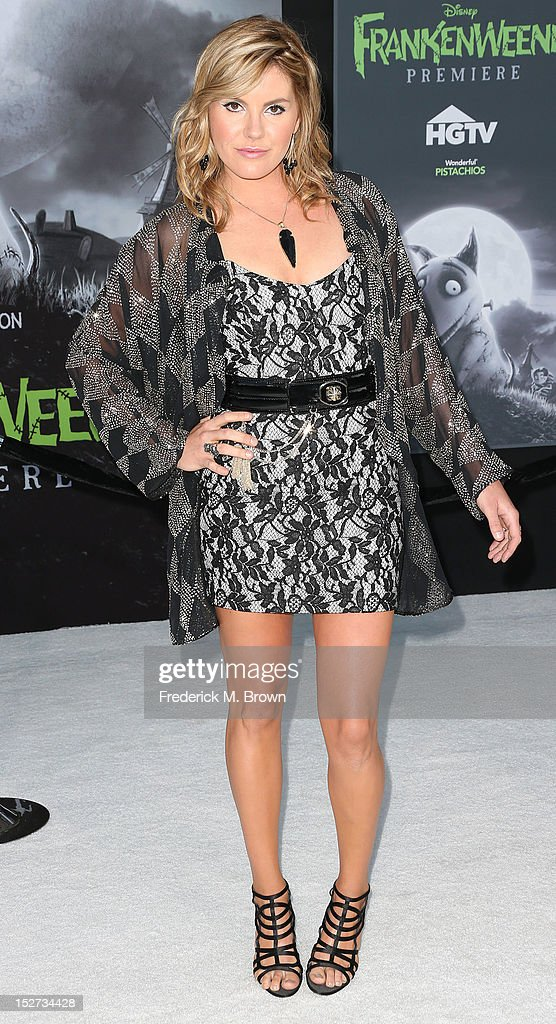 Singer Grace Potter attends the Premiere Of Disney's 'Frankenweenie' at the El Capitan Theatre on September 24, 2012 in Hollywood, California.