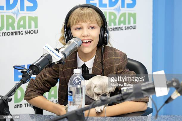 Singer Grace VanderWaal visits 'The Elvis Duran Z100 Morning Show' at Z100 Studio on January 24 2017 in New York City