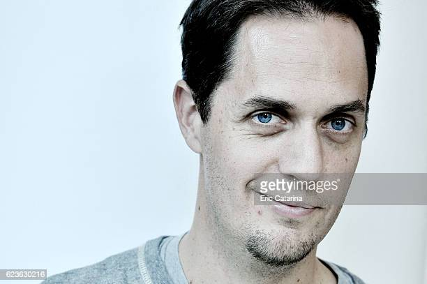 Singer Grand Corps Malade is photographed for Self Assignment on October 28 2016 in Montpellier France