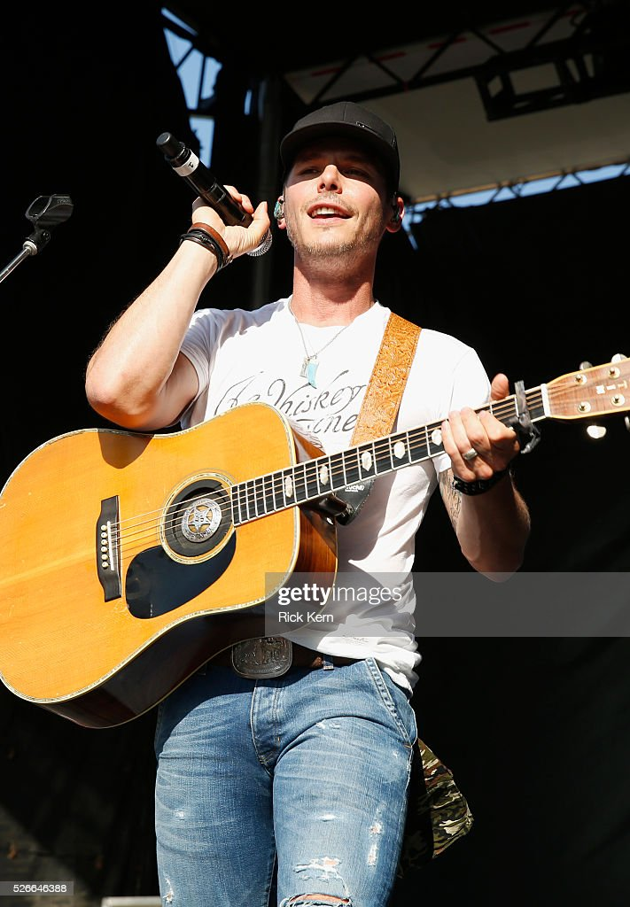 Singer Granger Smith performs live during the 2016 Daytime Village at the iHeartCountry Festival at The Frank Erwin Center on April 30, 2016 in Austin, Texas.