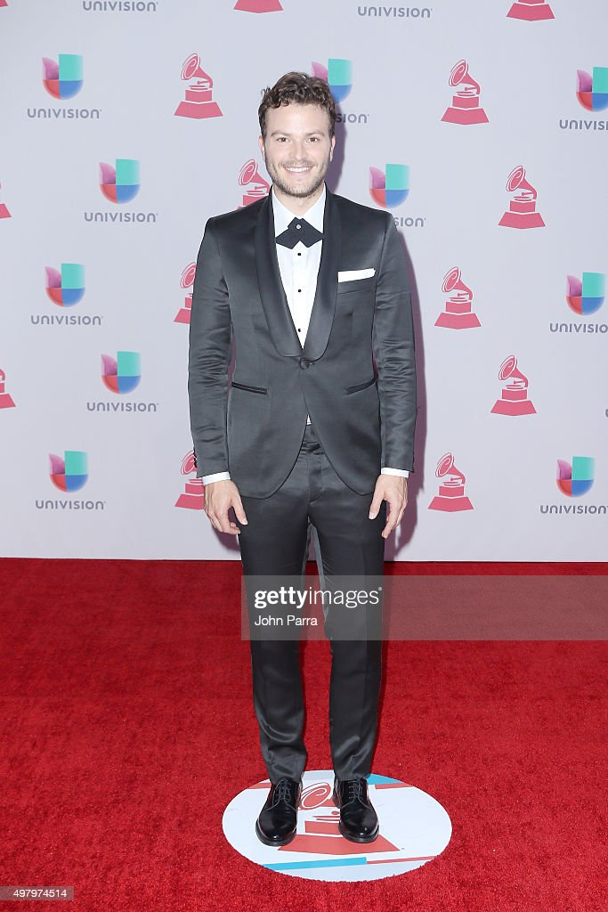Singer Gusi attends the 16th Latin GRAMMY Awards at the MGM Grand Garden Arena on November 19, 2015 in Las Vegas, Nevada.