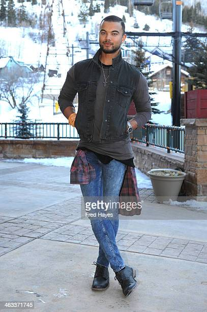 Singer Guy Sebastian attends the Sundance ASCAP Music Cafe during the 2014 Sundance Film Festival on January 17 2014 in Park City Utah