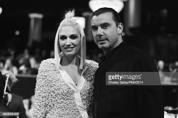 Singer Gwen Stefani and Gavin Rossdale attend the PEOPLE Magazine Awards at The Beverly Hilton Hotel on December 18 2014 in Beverly Hills California