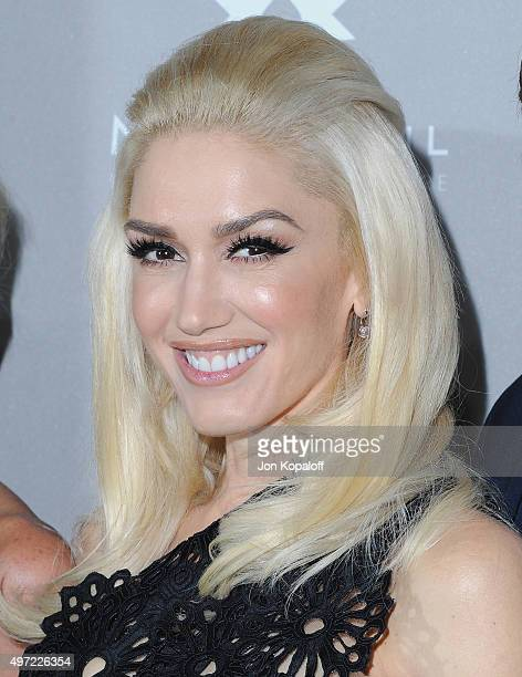Singer Gwen Stefani arrives at the 2015 Baby2Baby Gala at 3LABS on November 14 2015 in Culver City California