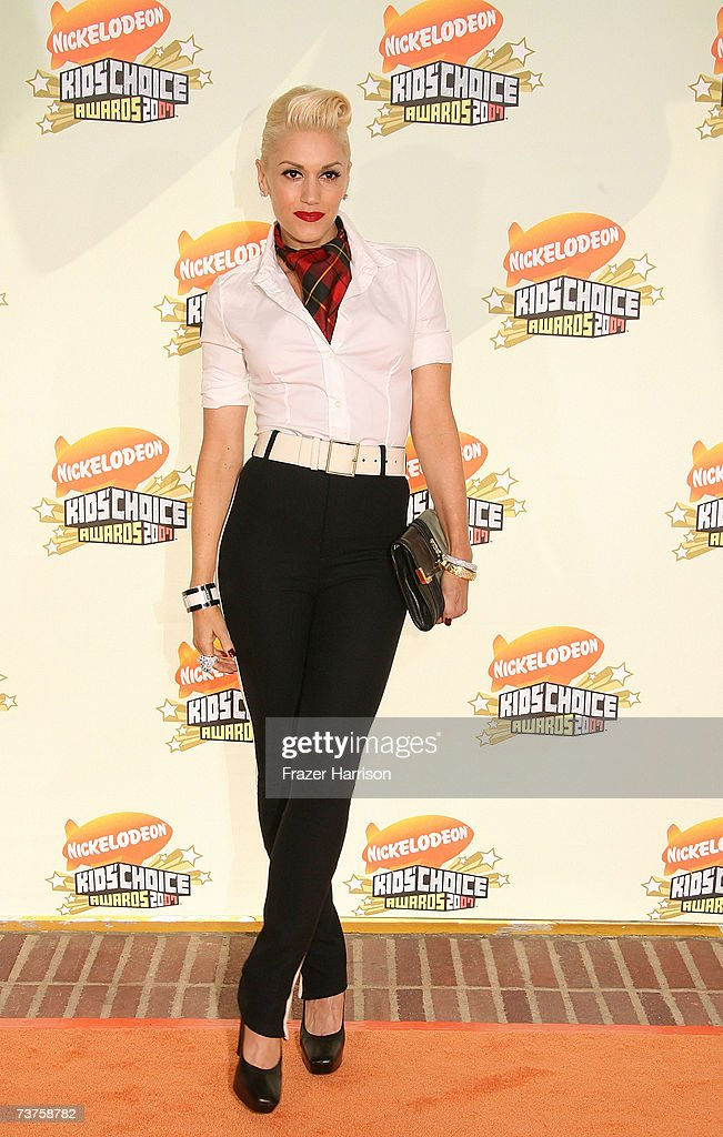 Singer Gwen Stefani arrives at the 20th Annual Kid's Choice Awards held at the UCLA Pauley Pavilion on March 31 2007 in Westwood California