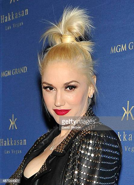 Singer Gwen Stefani arrives at the anniversary celebration of Hakkasan Las Vegas Restaurant and Nightclub at the MGM Grand Hotel/Casino early on...