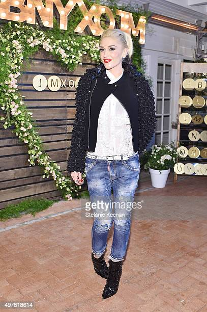 Singer Gwen Stefani attends Barneys New York Jennifer Aniston and Tobey Maguire host a private dinner to celebrate The Barneys New York XO Jennifer...