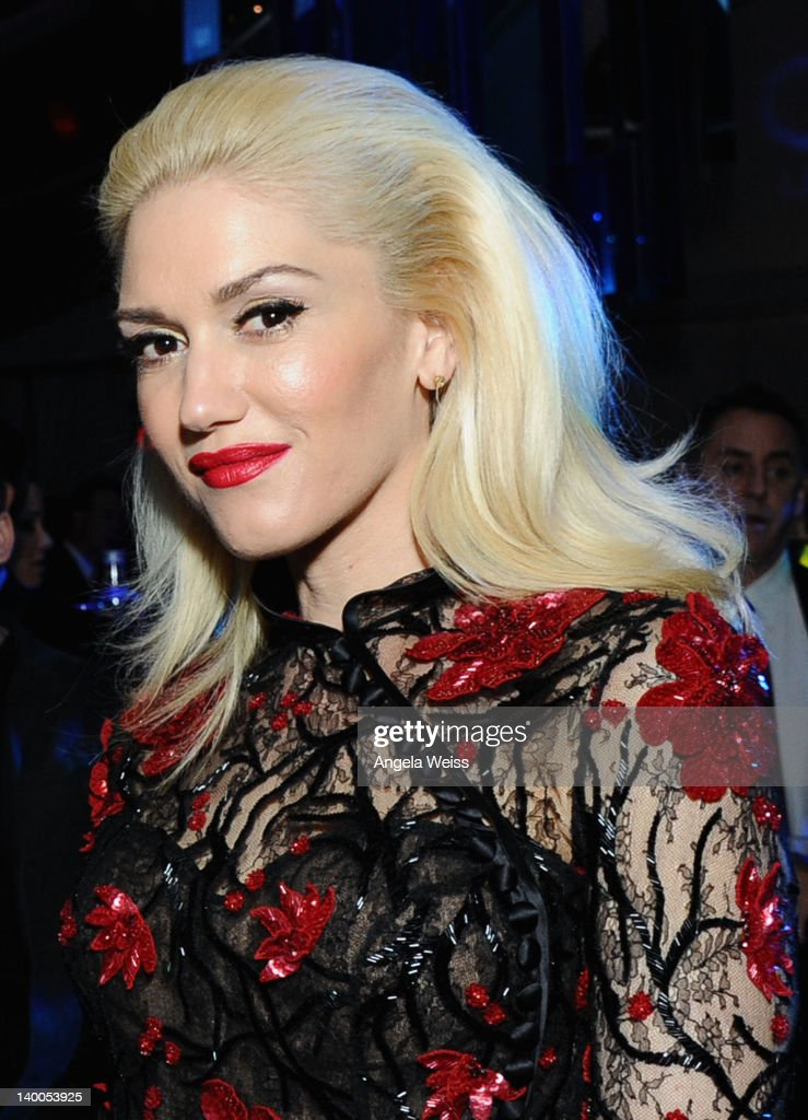 Singer <a gi-track='captionPersonalityLinkClicked' href=/galleries/search?phrase=Gwen+Stefani&family=editorial&specificpeople=156423 ng-click='$event.stopPropagation()'>Gwen Stefani</a> attends CIROC Vodka at 20th Annual Elton John AIDS Foundation Academy Awards Viewing Party at The City of West Hollywood Park on February 26, 2012 in Beverly Hills, California.