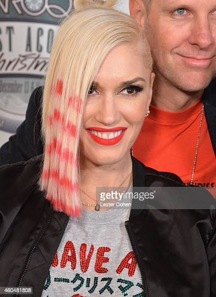 Singer Gwen Stefani attends day two of the 25th annual KROQ Almost Acoustic Christmas at The Forum on December 13 2014 in Inglewood California
