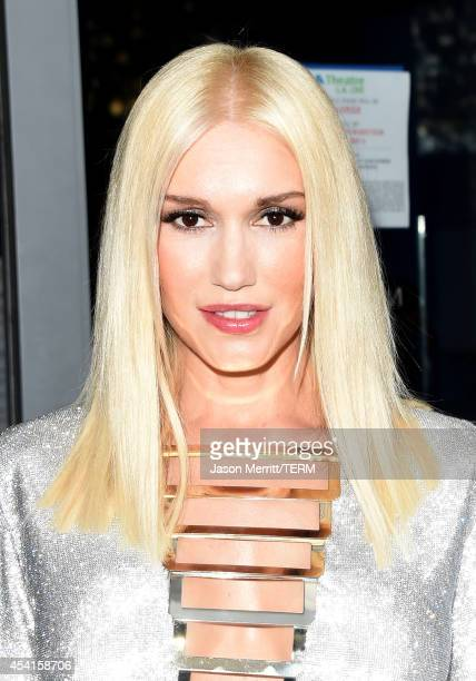 Singer Gwen Stefani attends the 66th Annual Primetime Emmy Awards held at Nokia Theatre LA Live on August 25 2014 in Los Angeles California
