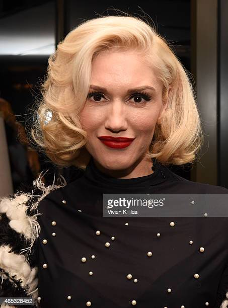 Singer Gwen Stefani attends the Established Jewelry By Nikki Erwin Launch Party Hosted By Erin Sara Foster on March 5 2015 in West Hollywood...