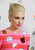 Singer Gwen Stefani attends the NBC's 'The Voice' Season 7 Red Carpet Event held at HYDE Sunset Kitchen Cocktails on December 8 2014 in West...