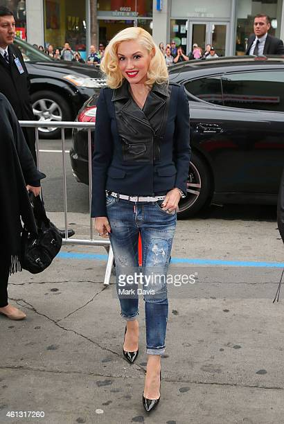 Singer Gwen Stefani attends the premiere of TWCDimension's 'Paddington' held at the TCL Chinese Theatre IMAX on January 10 2015 in Hollywood...