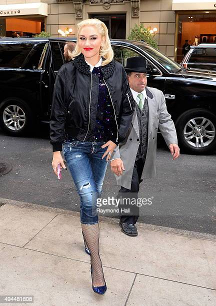 Singer Gwen Stefani is seen in 'Midtown'Show' on October 27 2015 in New York City