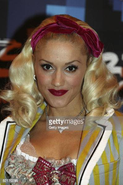 Singer Gwen Stefani poses in the press room with award after winning Best International Female Solo Artist during the 25th Anniversary BRIT Awards...
