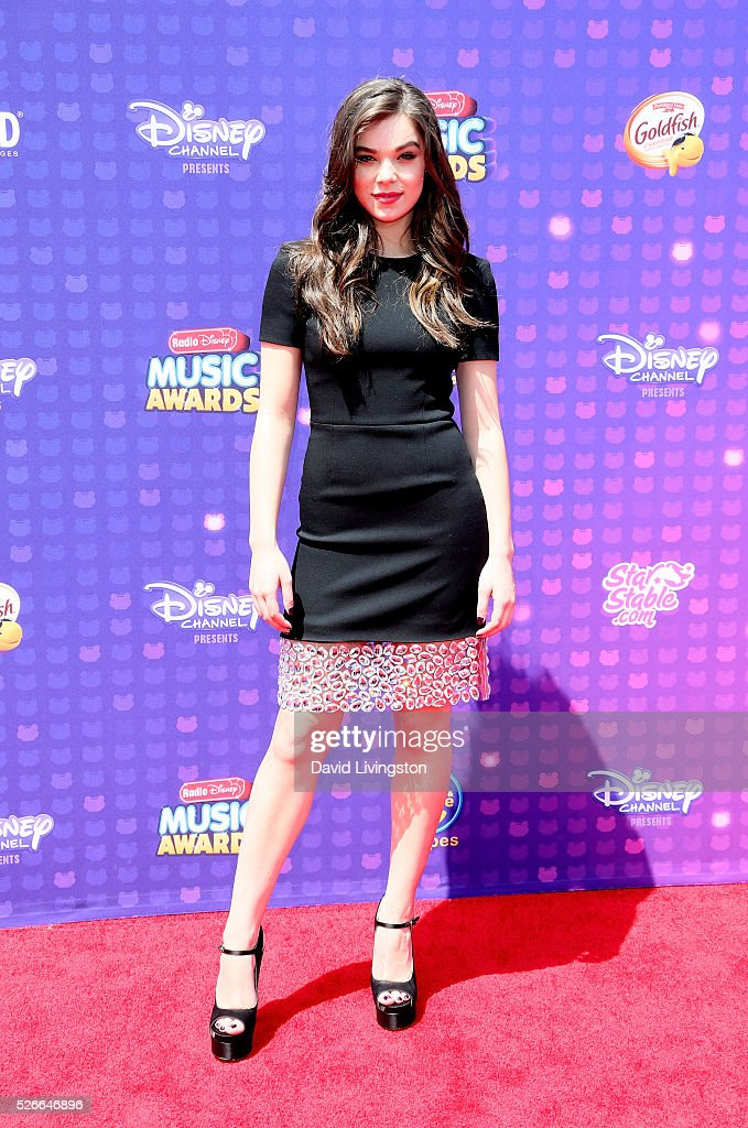 Singer Hailee Steinfeld attends the 2016 Radio Disney Music Awards at Microsoft Theater on April 30, 2016 in Los Angeles, California.