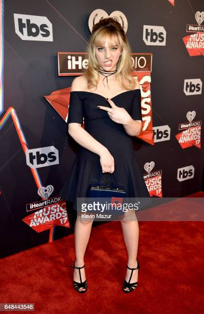 Singer Hailey Knox attends the 2017 iHeartRadio Music Awards which broadcast live on Turner's TBS TNT and truTV at The Forum on March 5 2017 in...