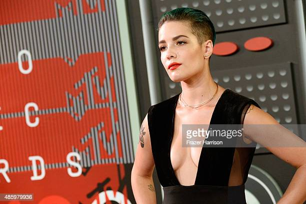 Singer Halsey attends the 2015 MTV Video Music Awards at Microsoft Theater on August 30 2015 in Los Angeles California