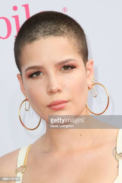 Singer Halsey attends the 2017 Billboard Music Awards at the TMobile Arena on May 21 2017 in Las Vegas Nevada