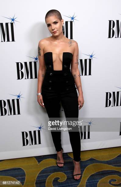 Singer Halsey attends the 65th Annual BMI Pop Awards at the Beverly Wilshire Four Seasons Hotel on May 9 2017 in Beverly Hills California