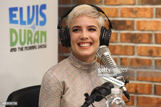 Singer Halsey performs during 'The Elvis Duran Z100 Morning Show' at Z100 Studio on October 22 2015 in New York City