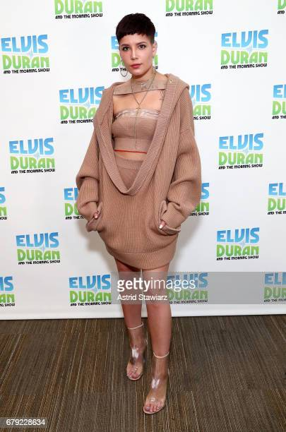 Singer Halsey visits 'The Elvis Duran Z100 Morning Show' at Z100 Studio on May 5 2017 in New York City