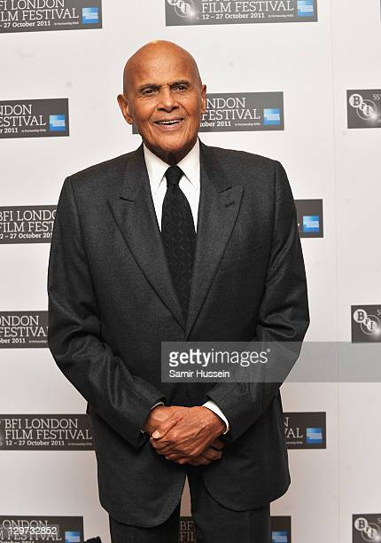 Singer Harry Belafonte attends the Premiere of The Future at the 55th BFI London Film Festival at Vue West End on October 20 2011 in London England