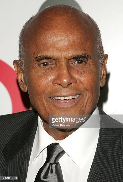 Singer Harry Belafonte attends Tony Bennett's 80th birthday celebration hosted by Target at The Museum of Natural History on August 3 2006 in New...
