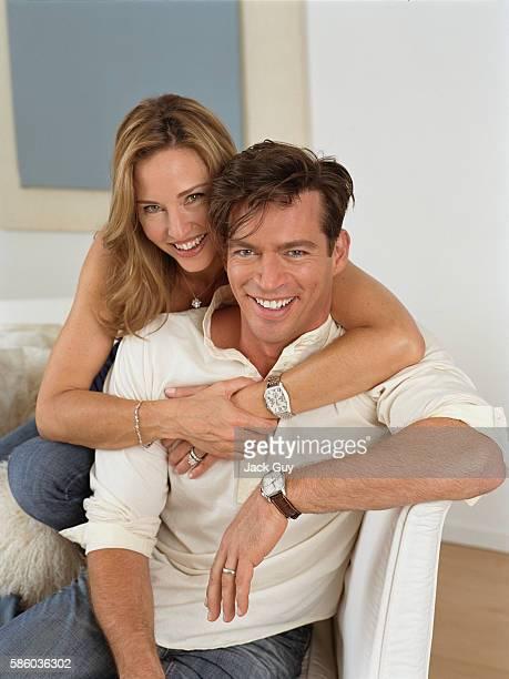 Harry Connick Jr. and Jill Goodacre, Redbook, June 2006