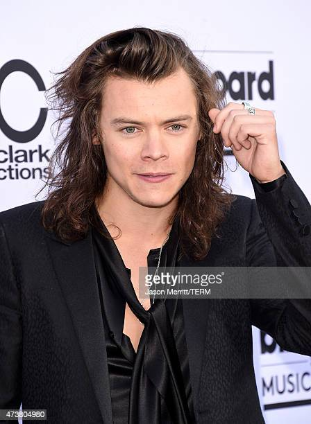 Singer Harry Styles attends the 2015 Billboard Music Awards at MGM Grand Garden Arena on May 17 2015 in Las Vegas Nevada
