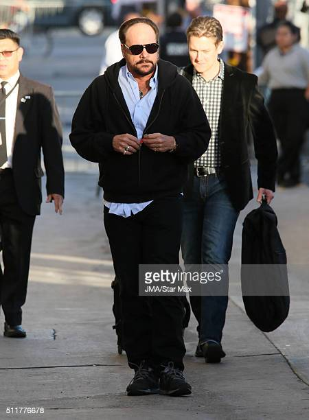 Singer Harry Wayne Casey of KC and The Sunshine Band is seen on February 22 2016 Los Angeles CA
