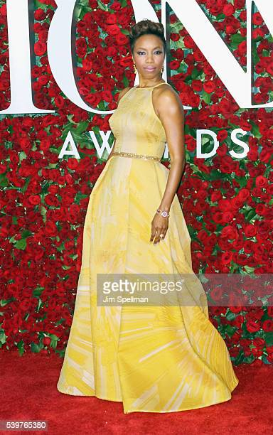 Singer Heather Headley attends the 70th Annual Tony Awards at Beacon Theatre on June 12 2016 in New York City