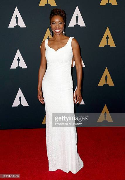 Singer Heather Headley attends the Academy of Motion Picture Arts and Sciences' 8th annual Governors Awards at The Ray Dolby Ballroom at Hollywood...